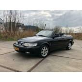 Saab 9-3 Cabriolet Senses Edition 2.0t Zwart 343.000km
